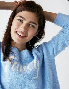 Express fancy oversize sweater